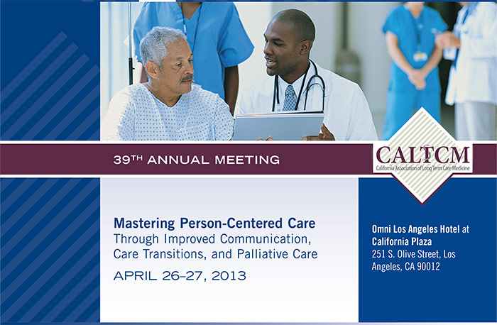 California Association of Long Term Care Medicine 39th Annual Meeting